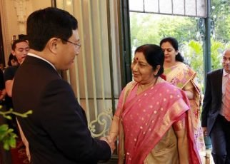 ac76a24a9d0 Sushma Swaraj in Vietnam  EAM holds talks with counterpart