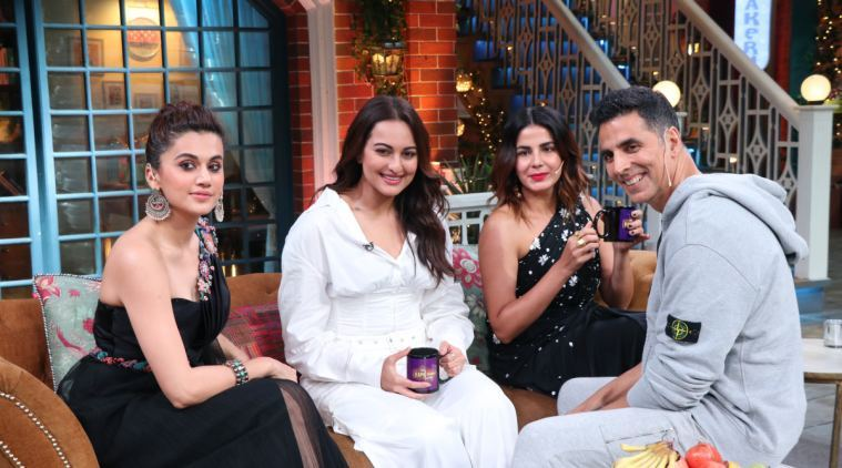The Kapil Sharma Show preview: Akshay, Taapsee, Sonakshi and